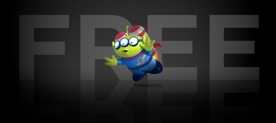 Pixar RenderMan Alien