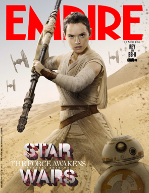 Star Wars The Force Awakens Empire Magazine Rey