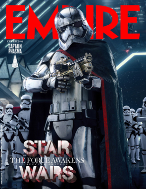 Star Wars The Force Awakens Empire Magazine Captain Phasma