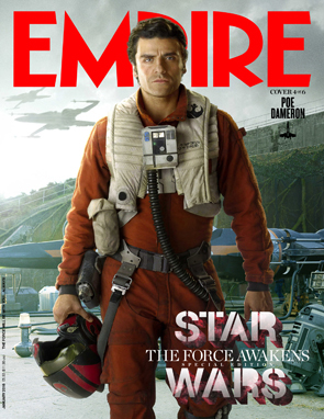 Star Wars The Force Awakens Empire Magazine Poe