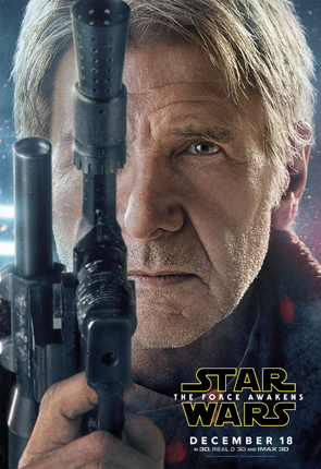 Star Wars The Force Awakens Portrait Han Solo