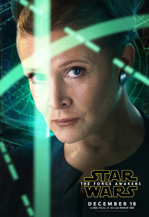 Star Wars The Force Awakens Portrait Leia