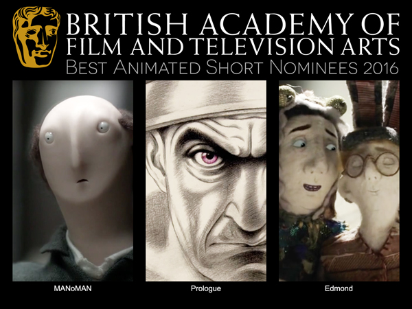 BAFTA Best Animated Short Nominees 2016