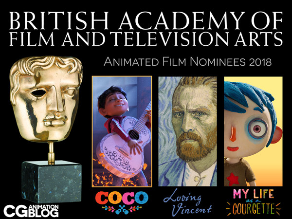 BAFTA Animated Film Nominees 2018