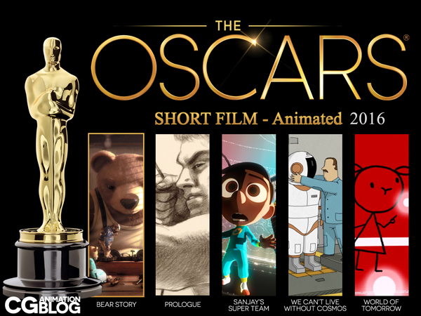 Awards OSCARS 2016 SHORT FILM - Animated