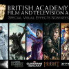 BAFTA Special Visual Effects Nominees 2015